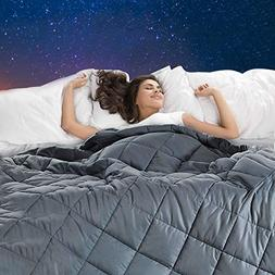 Weighted Blanket,Bed Couch Heavy Blanket with 100% Cotton Ma