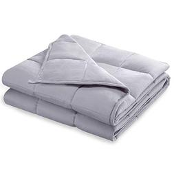 """BUZIO Weighted Blanket  Heavy Blanket for Adults, 60"""" x 80"""","""