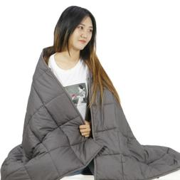 """Weighted Blankets 60""""x80"""" Twin/Full/Queen Weighted 20 lbs"""