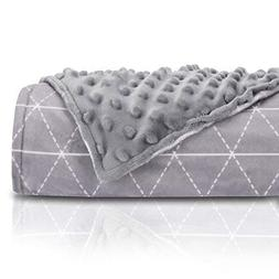 rocabi 25 lbs Weighted Blanket & Cover Luxury Set | Queen Si