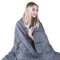 Weighted Blanket Cotton Reduce Stress Heavy Blanket 20 lbs 1