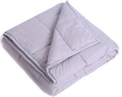 """Kpblis Weighted Blanket 5 lbs 36"""" x 48"""" for 30-70 lbs, 100%"""