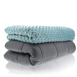 Sonno Zona Weighted Blanket Adult Size - for Natural Calm -