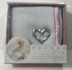 You & Me Baby So Sweet Knit Doll Blanket with Rattle Nursery